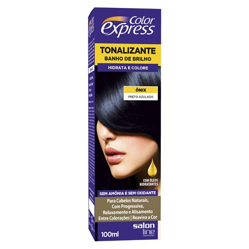KIT COLOR EXPRESS SALON LINE - ONIX - PRETO AZULADO