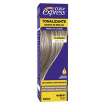 KIT COLOR EXPRESS SALON LINE - PLATINADO - PRATA CLARO