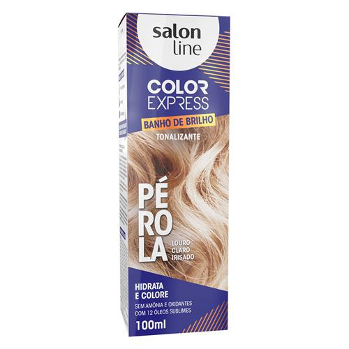 KIT COLOR EXPRESS SALON LINE - PÉROLA - LOURO CLARO IRISADO