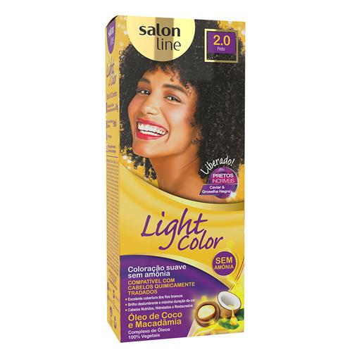 LIGHT COLOR PROF SALON LINE - 2.0 PRETO