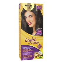 LIGHT COLOR PROF SALON LINE - 3.0 CASTANHO ESCURO