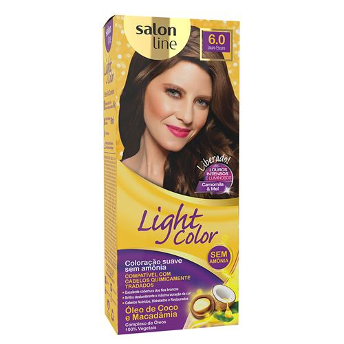 LIGHT COLOR PROF SALON LINE - 6.0 LOURO ESCURO