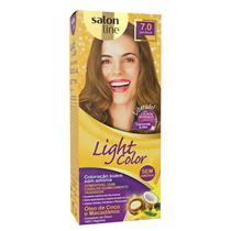 LIGHT COLOR PROF SALON LINE - 7.0 LOURO NATURAL