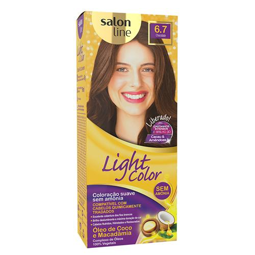LIGHT COLOR PROF SALON LINE - 6.7 CHOCOLATE