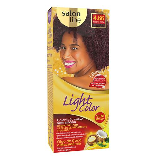 LIGHT COLOR PROF SALON LINE - 4.66 BORGONHA INTENSO