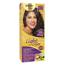 LIGHT COLOR PROF SALON LINE - 4.77 CAFÉ INTENSO
