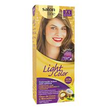 LIGHT COLOR PROF SALON LINE - 7.1 LOURO FASCINANTE