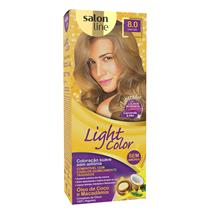 LIGHT COLOR PROF SALON LINE - 8.0 LOURO CLARO