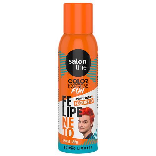 COLOR EXPRESS SPRAY SALON LINE - FELIPE NETO FOGONETO 150ML/85GR