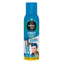 COLOR EXPRESS SPRAY SALON LINE - FELIPE NETO AZULNETO 150ML/85GR