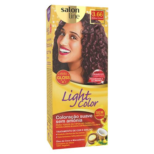 LIGHT COLOR PROF SALON LINE - 3.66 BORDEAUX PROFUNDO