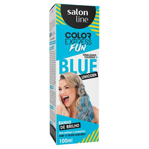 KIT COLOR EXPRESS FUN BLUE UNICORN