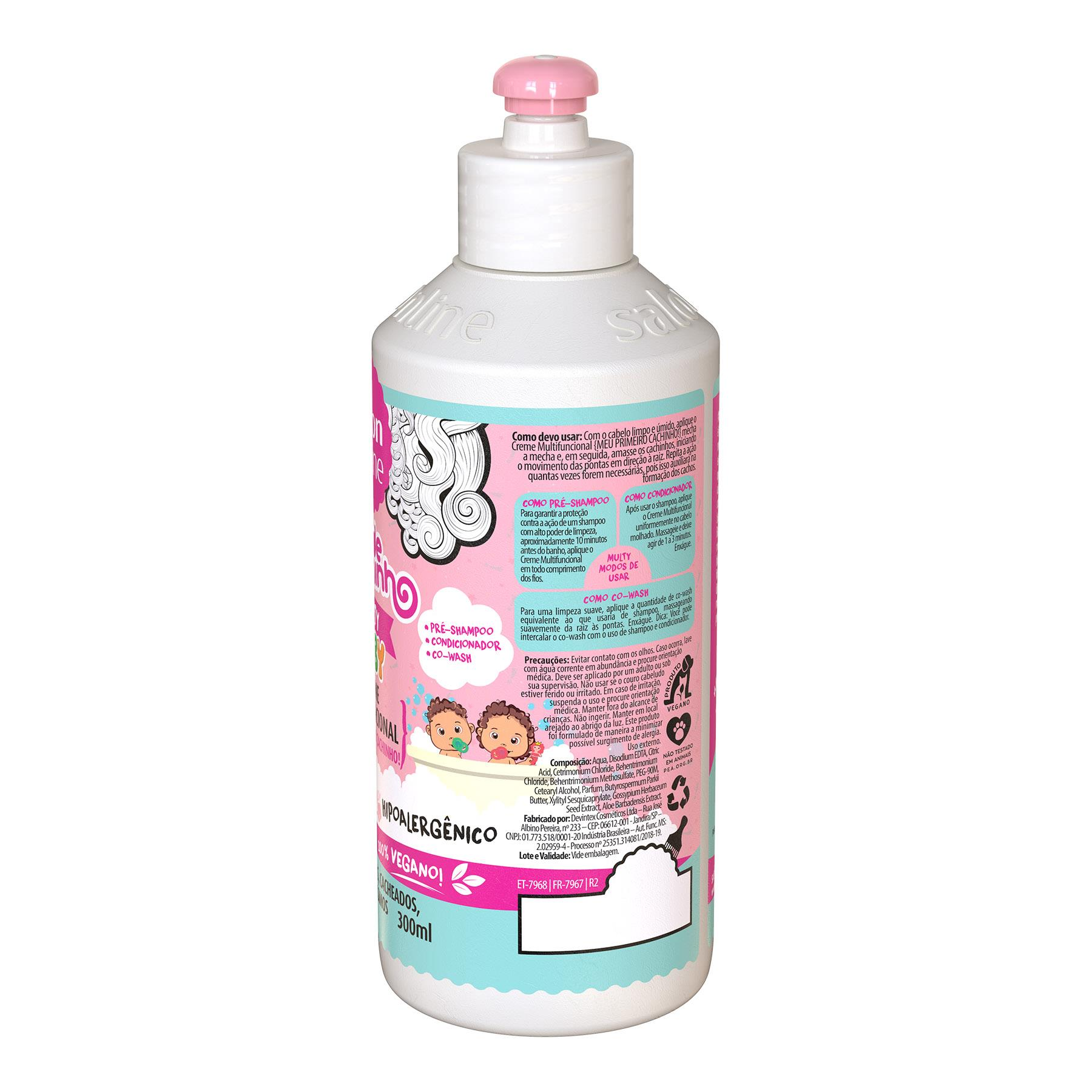 Creme Multifuncional Todecachinho Baby Salon Line 300ml